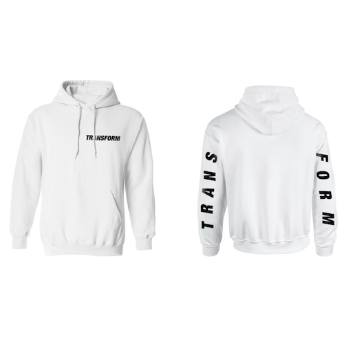 TRANSFORM The Fast Text Hood - white-