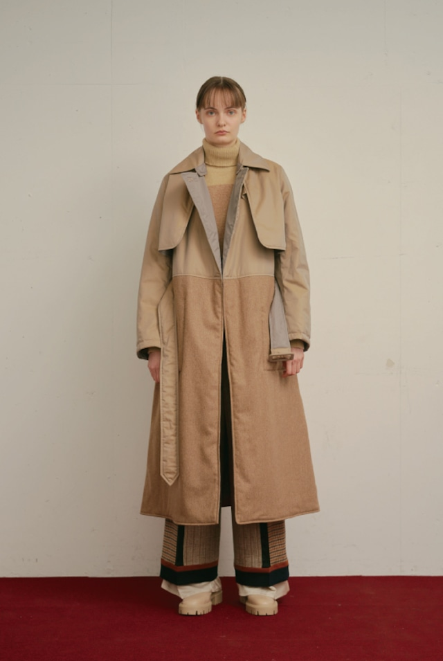 DISASSEMBLY COAT /  BEIGE