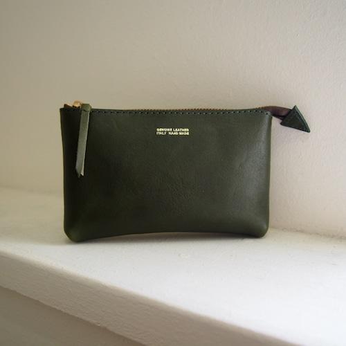 【saranam】multi pouch (S)green/ 【サラナン】マルチポーチ S グリーン