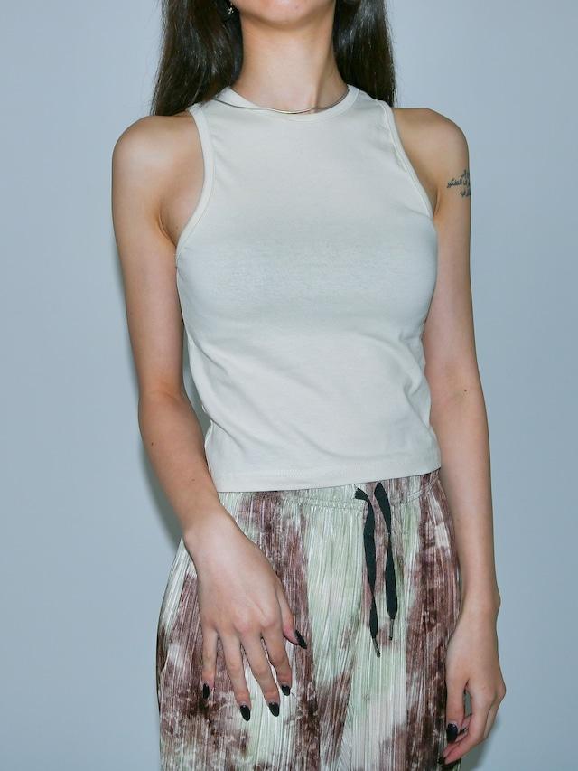 【WOMENS - 1 Size】ROUNDNECK SHORT TANK / 3colors