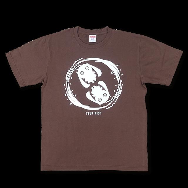 ピノキオピー 銀シャリTシャツ(メンズ/玄米バージョン) - メイン画像