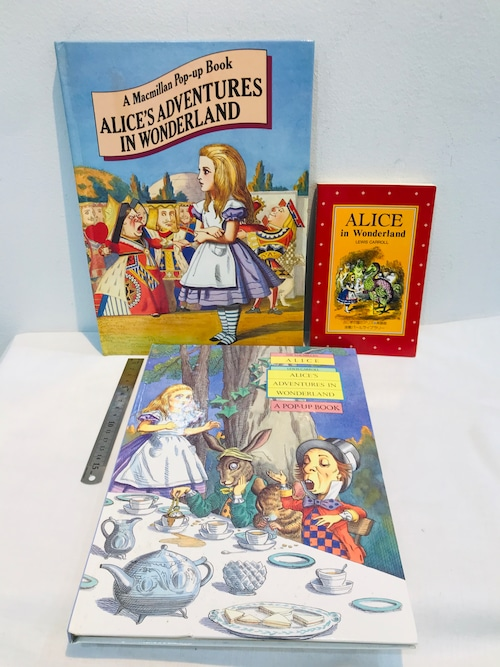 ALICE'S 不思議な国のアリス a pop-up 2冊+1