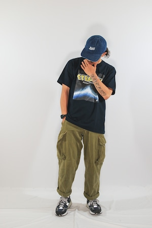 """LOCAL MAGAZINE 1ST ISSUE """"STRAIGHT"""" S/S TEE [PLANETNAVY]"""