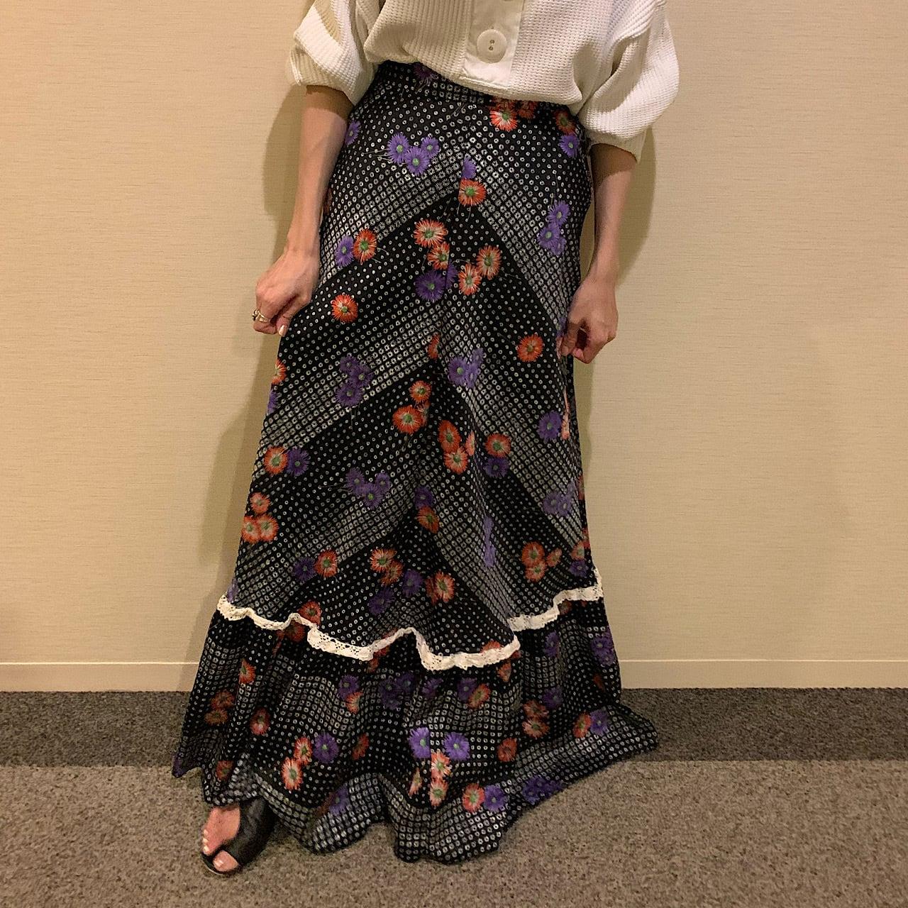 70's High waist mermaid skirt マーメイドスカート