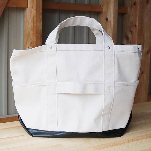 8号帆布TOOL BAG(off white×black)