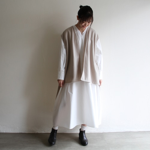 TENNE HANDCRAFTED MODERN 【 womens 】v neck dress with vest