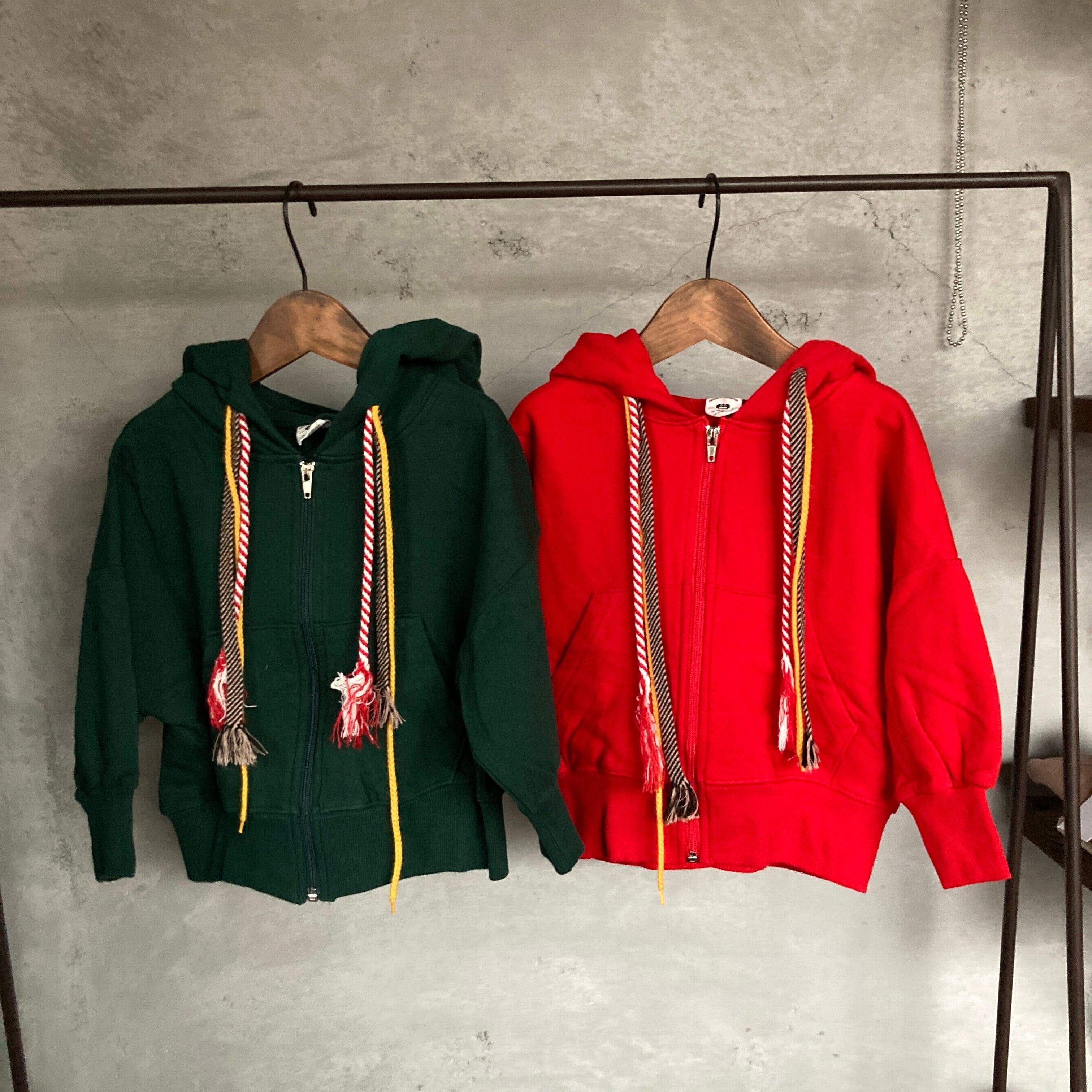 Special price!!! DRESS MONSTER マルチストリングジップアップ140~150