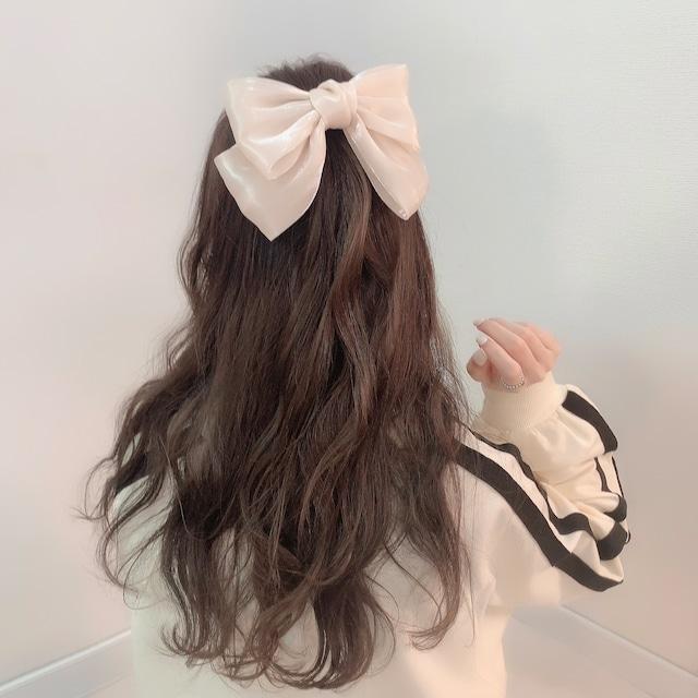 【 再入荷 】tulle ribbon(Off white)