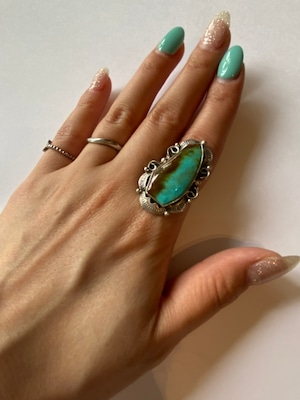【Indian jewelry】ターコイズリング