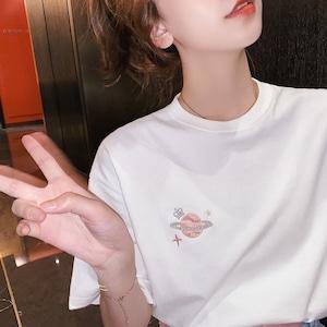 プラネットエンブレムTシャツ S3910