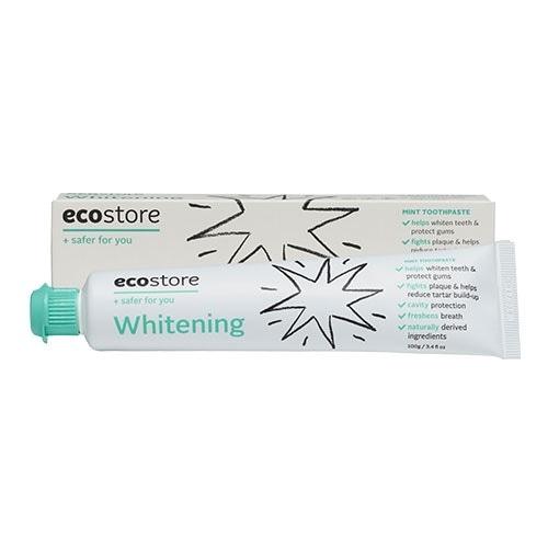 【ecostore】トゥースペースト<ホワイトニング> 100g