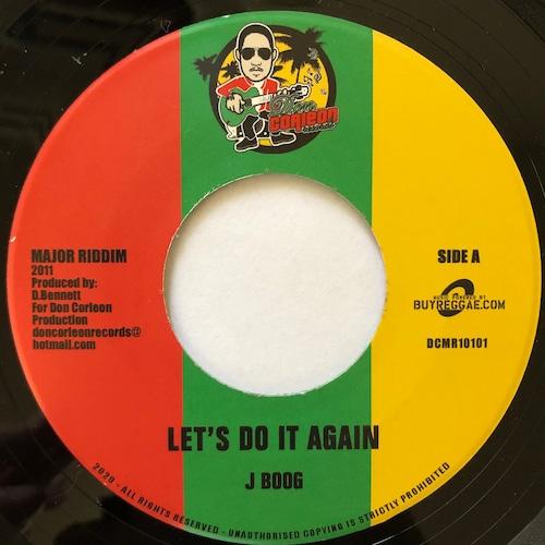J Boog - Let's Do It Again【7-20602】