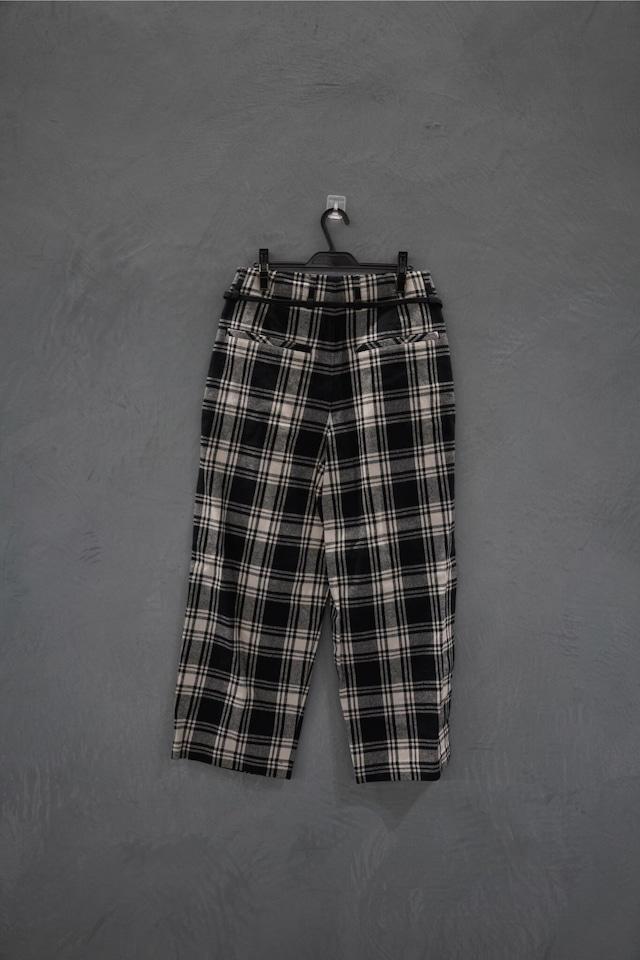 room13 check pants