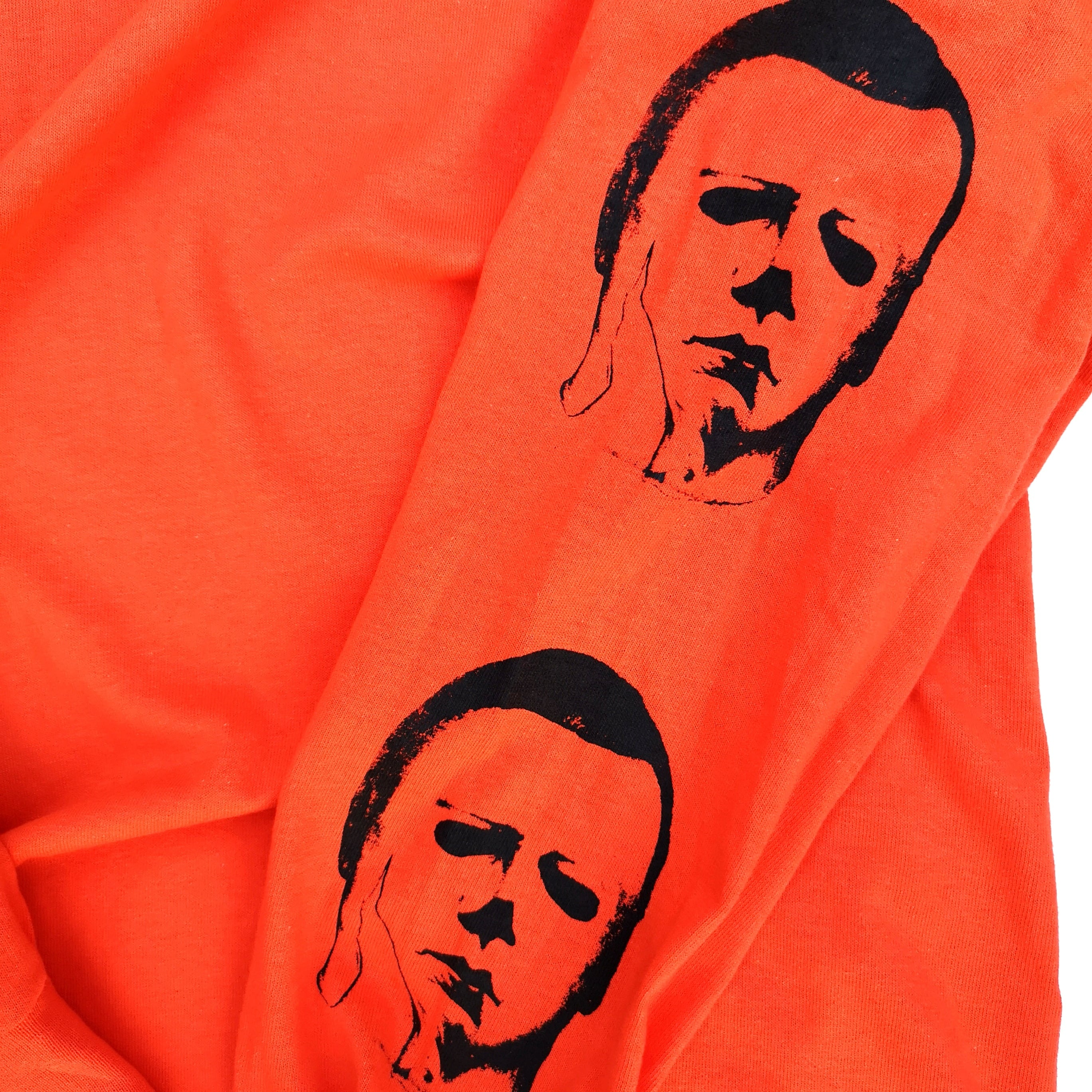 ||||| LEATHER AND BOOGEY LONG TEE ORANGE XL