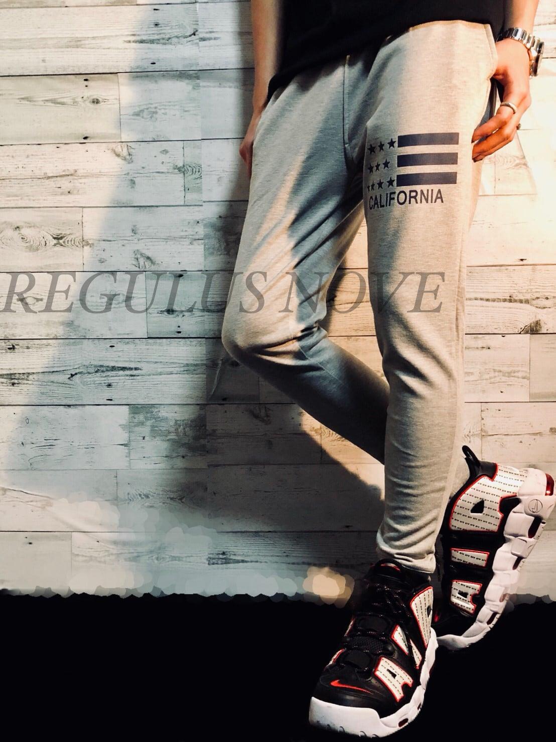 カリフォルニアスウェットジョガーパンツ スウェット ルームウェア スポーツウェア 運動着 トレンド パンツ ボトム ジョガーパンツ