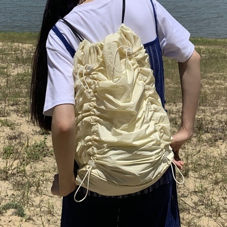 Pleats  purse bag(プリーツパースバッグ)b-394