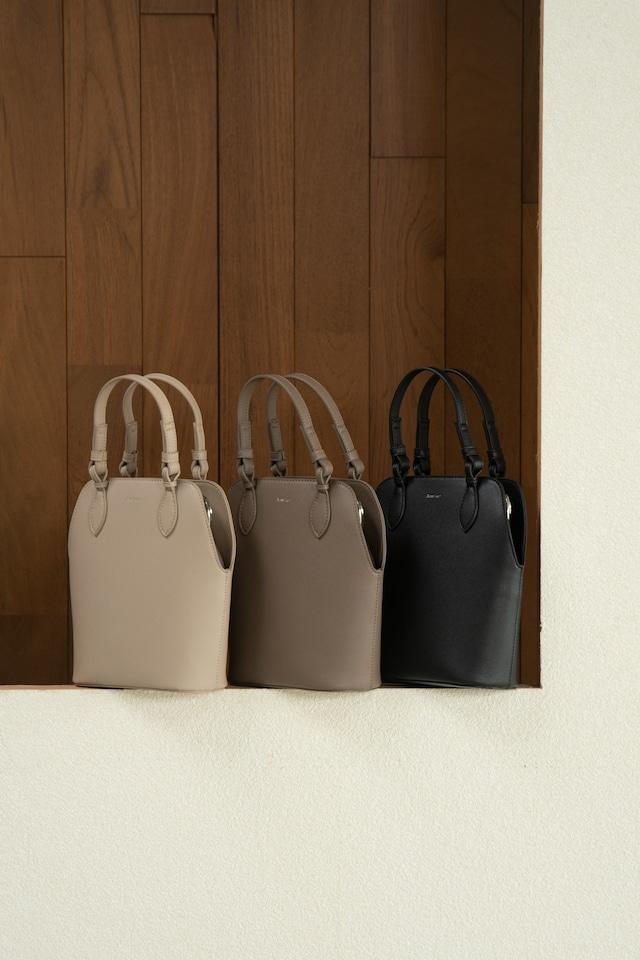 narrow double handle bag