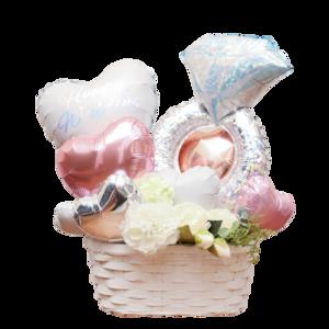 balloon002    pink Whitebase 〜Wedding arrange〜