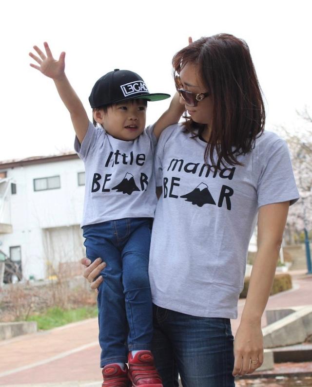 商品番号822 親子リンクTシャツ BEAR