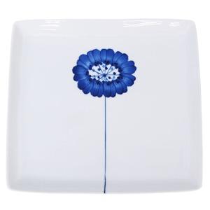 波佐見焼 WAZAN 和山窯 flowers 角プレート 皿 一輪花 323560