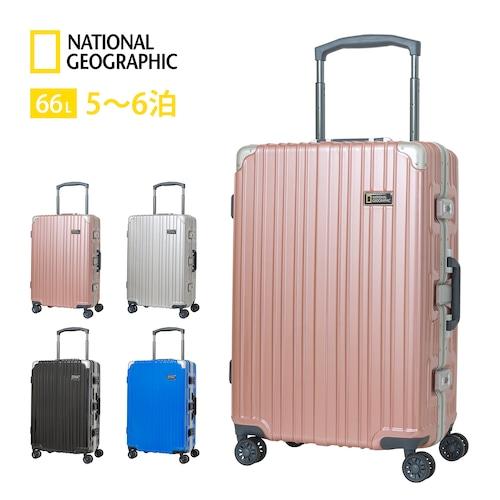 NAG-0799-62 [クーポン対象]スーツケース Lサイズ フレーム キャリーケース Nationalgeographic ナショナルジオグラフィック