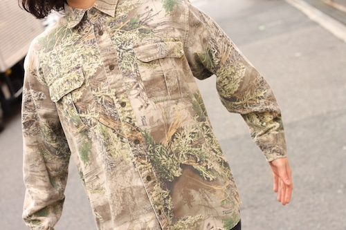 cabela's real tree camo work shirt