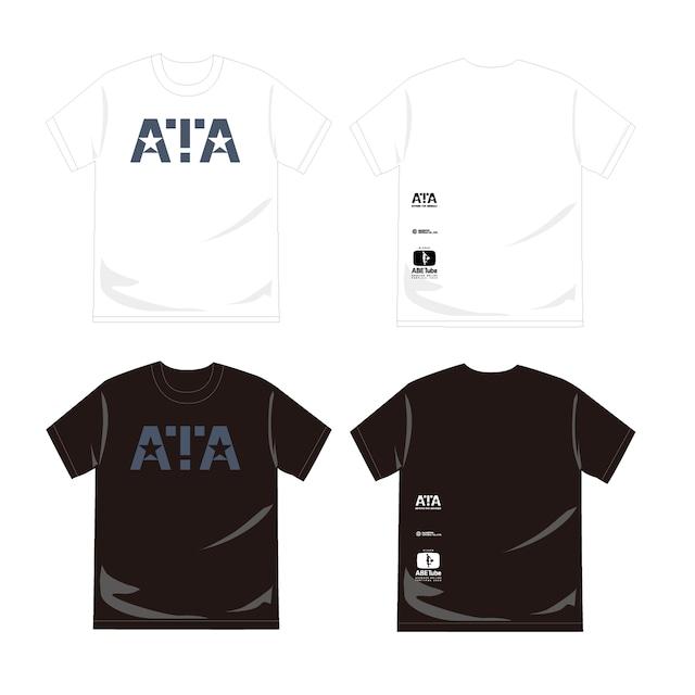 【あ、安部礼司】復刻版 ATA-Tシャツ