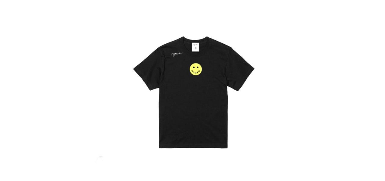 coguchi smile T-shirts (BLK)