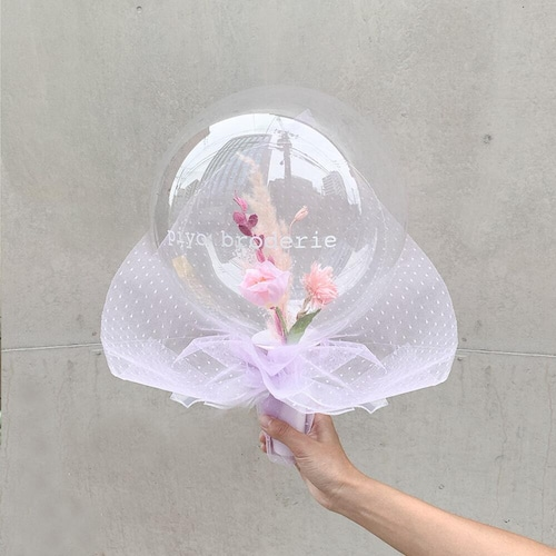 BALLOON FLOWER BOUQUET - castaic -