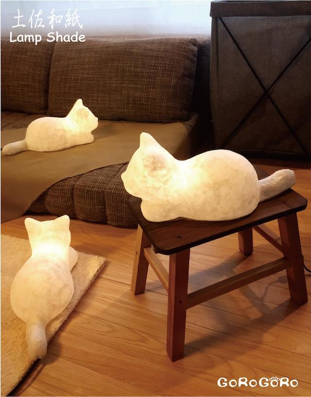 NEKOのAKARI(和紙猫のランプ)