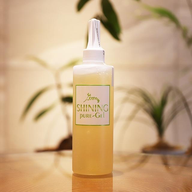 シャイニング ジェル 250ml 美容成分たっぷりのお肌つるつる美容ジェル。