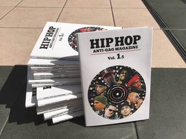 Hip Hop Anti-GAG Magazine Vol. 1.5|Genaktion