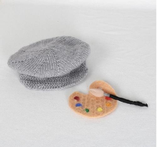 絵描きさん帽子&絵の具セット