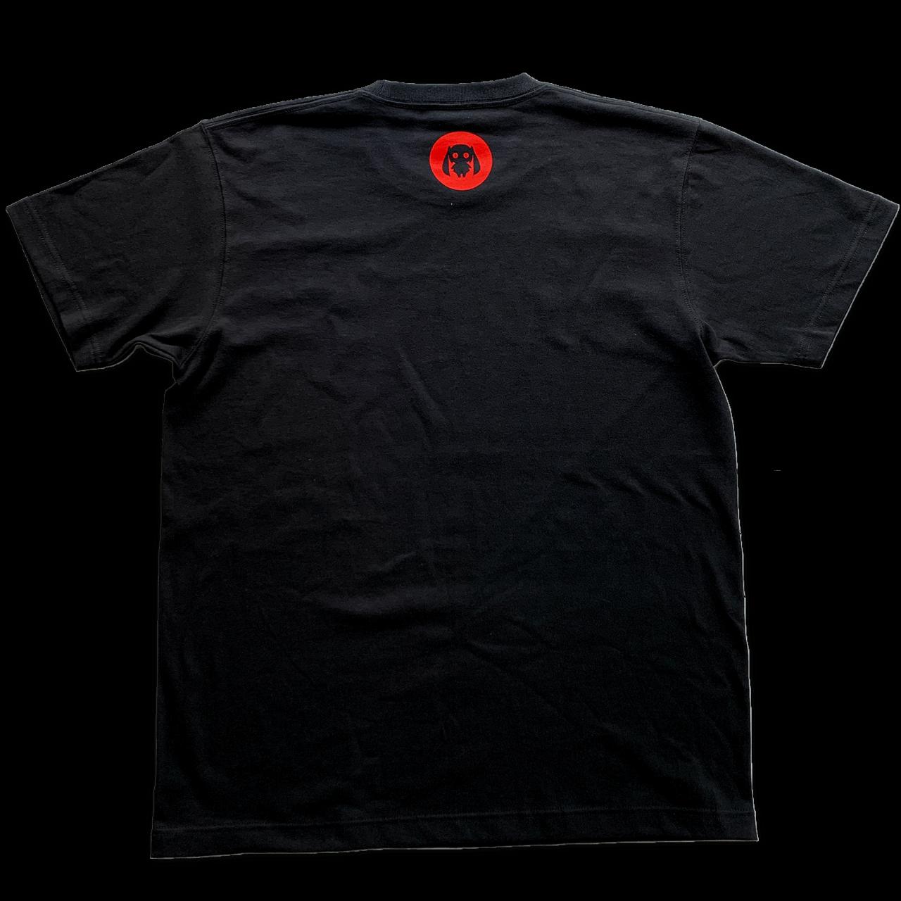 ピノキオピー - AKEBONO Tシャツ(黒) - 画像2