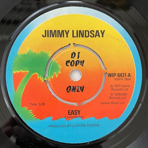 Jimmy Lindsay - Easy【7-20768】