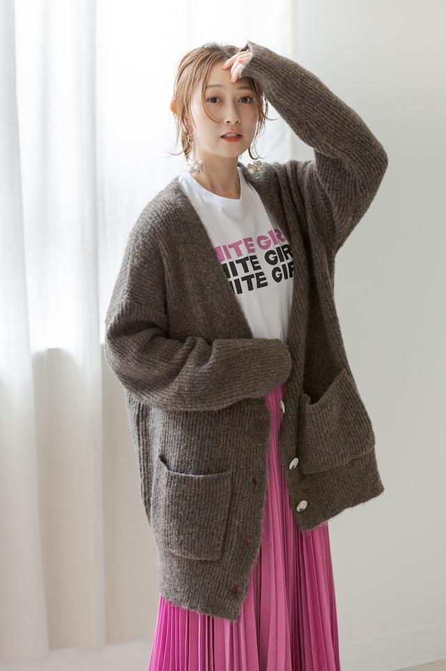 【小室安未様着用】loose knit cardigan