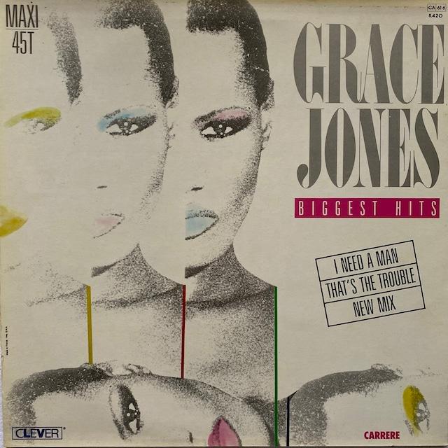 【12inch・仏盤】Grace Jones / Biggest Hits