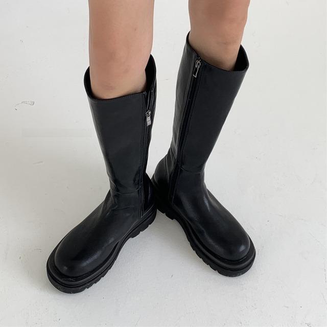 Chimney silhouette boots(チムニーシルエットブーツ)b-011