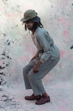 Easy Wide Pants -gray <LSD-AI1P3>
