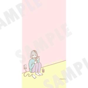 待受画像「恩座マユコ」