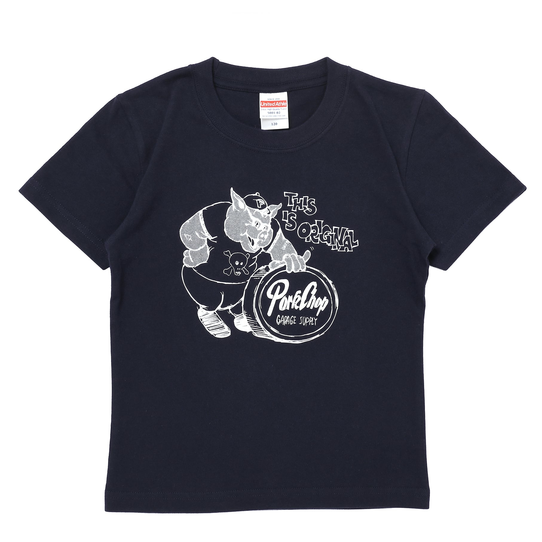 THIS IS ORIGINAL TEE for kids/NAVY