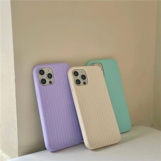 Simple wave line iphone case