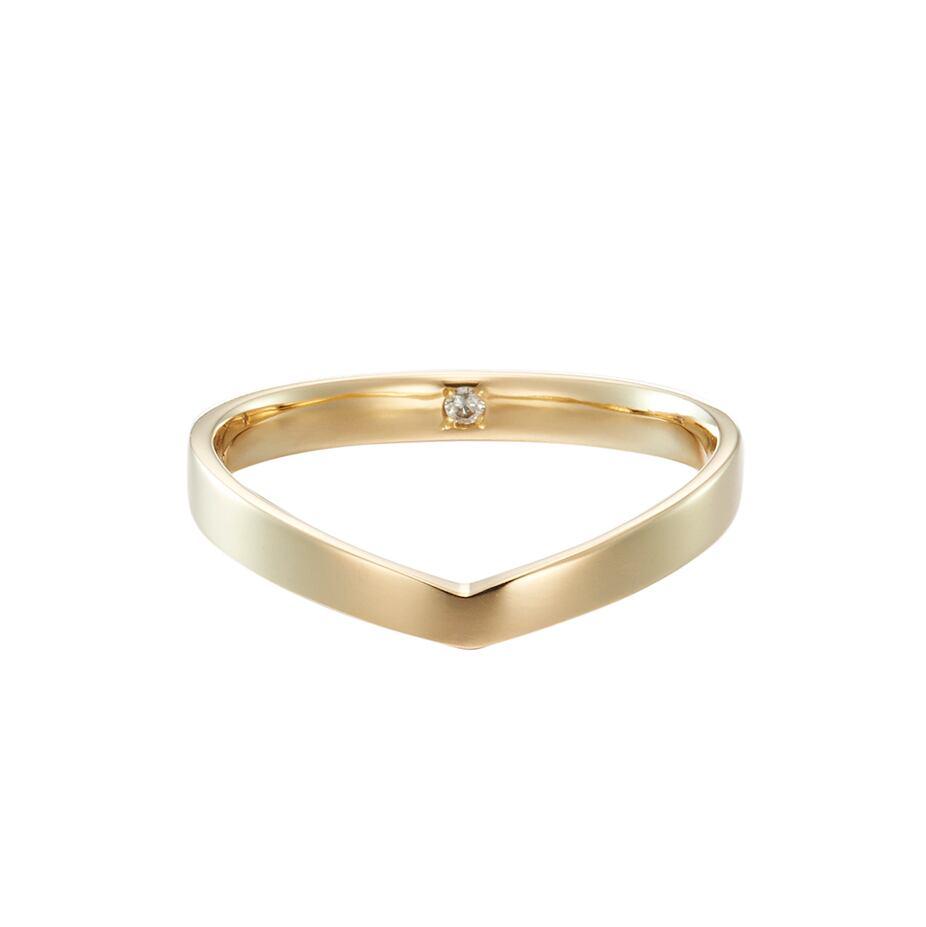 K18YG Everlasting Ring / #4-#15