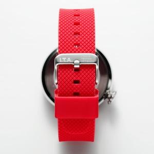 【I.T.A. アイティエー】DISCO VOLANTE ディスコ・ボランテ(レッド)/国内正規品 腕時計