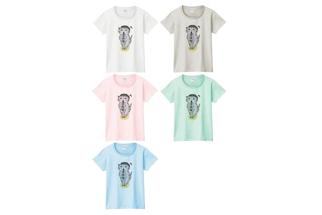 ピアニカ猫のTシャツ
