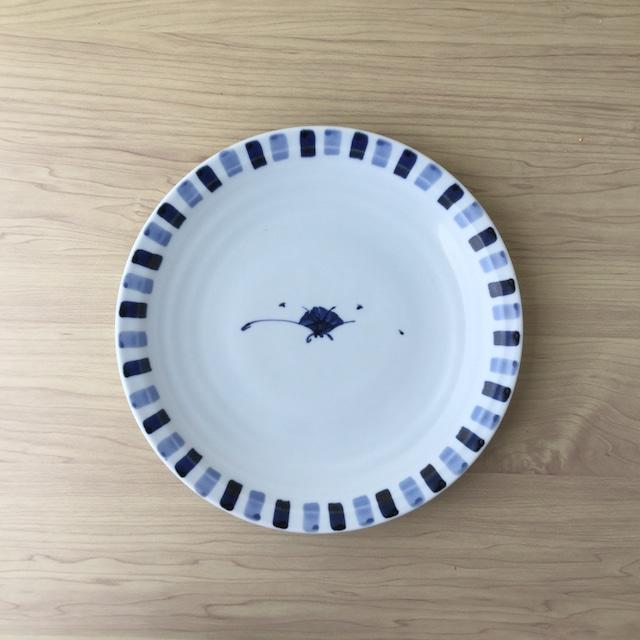 【伊万里焼】小花絵 八.五寸皿【在庫限り】