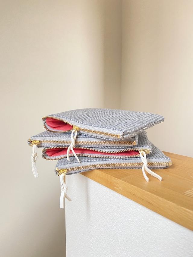 【再入荷】手織りミニポーチ(Hand-woven pouch 14cm Alinea)