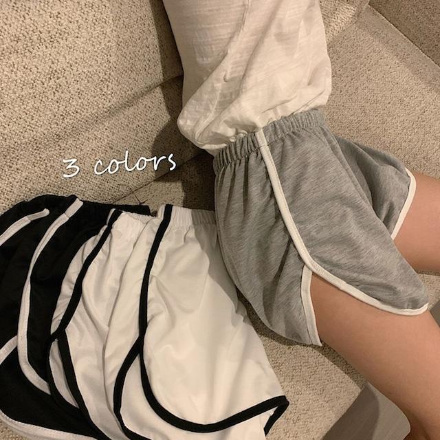 【ボトムス】韓国系insカジュアルハイウエストショートパンツ29215675