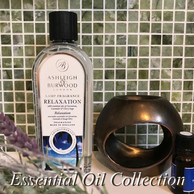 ランプフレグランス(500ml)Essential Oil Collection Ashleigh&Burwood