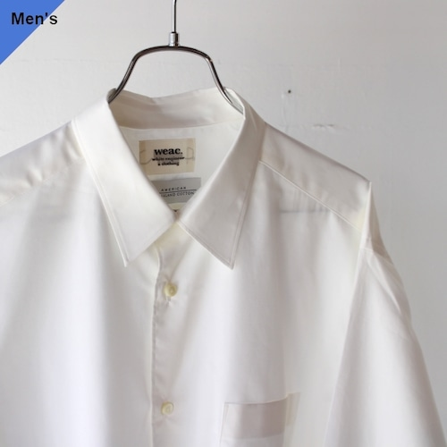 weac. CASUAL DRESS SHIRTS (WHITE)